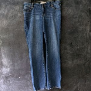 Torrid Relaxed Boot Cut Extra Tall Hi-Rise Jeans